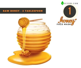 1 Plain Honey Face Mask