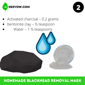 Charcoal Homemade Blackhead Removal Mask