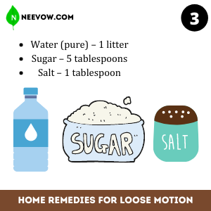 Oral Rehydration Solution – Best Home Remedies for Loose Motion