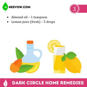 Almond Oil – The Dark Circle