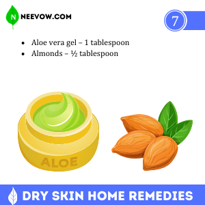 Aloe Vera Gel – The Dry Skin Home Remedies