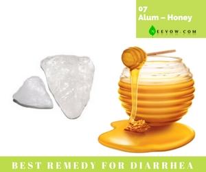 (Alum – Honey) Diarrhea Home Remedies-7