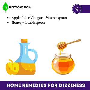 Apple Cider Vinegar – Best Home Remedies For Dizziness