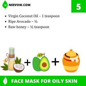 Avocado And Coconut Oil Homemade Face Mask