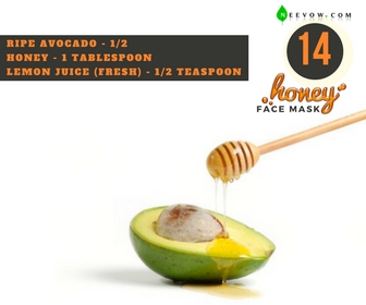 Avocado & Honey Face Mas