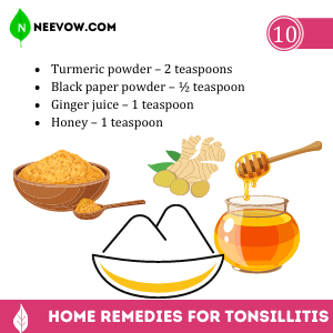 Ayurvedic Home Remedy for Tonsillitis