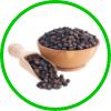 Black paper & Coriander Seeds