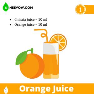 Chirata & Orange Juice