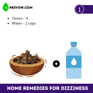 Cloves – Best Home Remedies For Dizziness