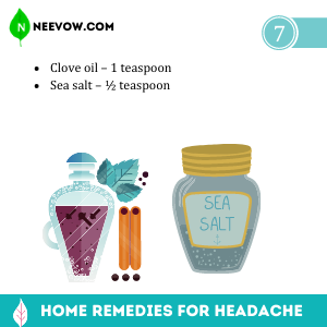 Cloves – Best Home Remedies for Headache