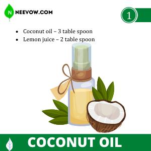 Coconut Oil - Dandruff