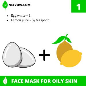 Egg White And Lemon