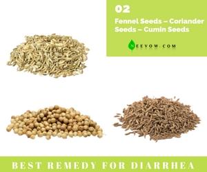 Fennel Seeds – Coriander Seeds – Cumin Seeds) Diarrhea Home Remedies 2