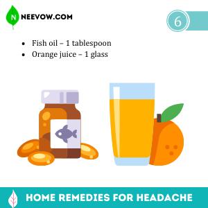 Fish oil – Headache