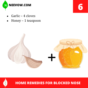 Garlic – Indian Home Remedies For Blocked Nose