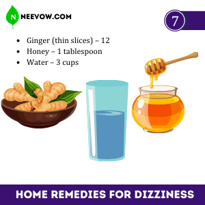 Ginger – Best Home Remedies For Dizziness