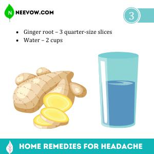 Ginger – Headache