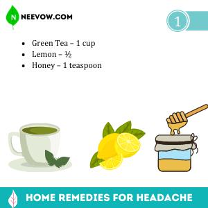 Green Tea – Headache