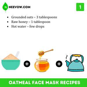 Honey And Oatmeal Face Mask Recipe For Acne