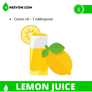 LEMON JUICE Constipation Home Remedies