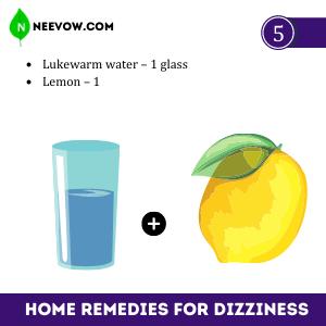 Lemon – Best Home Remedies For Dizziness