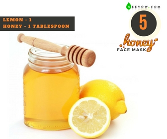 Lemon & Honey Face Mask