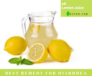 (Lemon Juice) Diarrhea Home Remedies-8