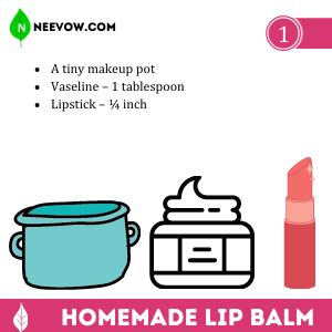 Make Homemade Lip Balm With Vaseline