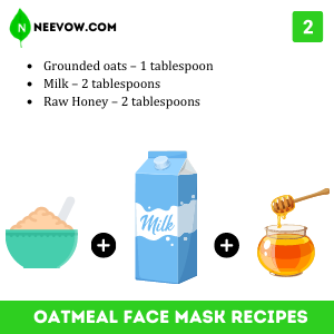Milk And Oatmeal Face Mask