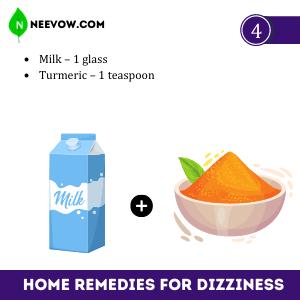 Milk For Dizziness