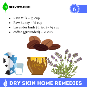 Milk & Honey – The Dry Skin Home Remedies