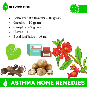 NATURAL TREATMENT FOR ASTHMA