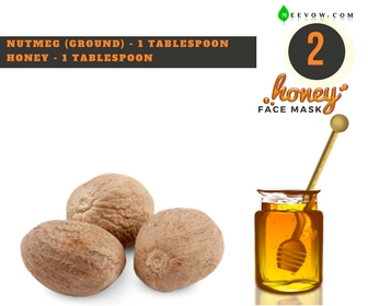 Nutmeg & Honey Face Mask 2
