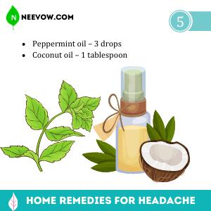Peppermint Oil – Headache