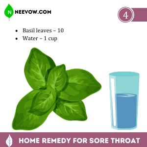 Sore Throat – Basil