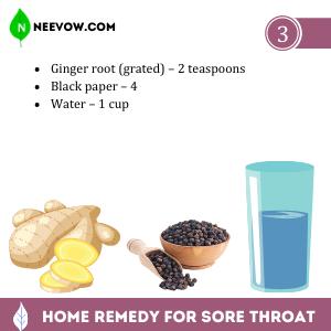 Sore Throat – Ginger