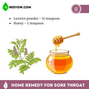 Sore Throat – Licorice