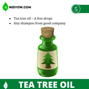 Tea Tree Oil - Dandruff