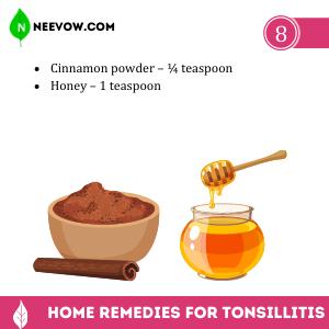 Tonsillitis Cinnamon