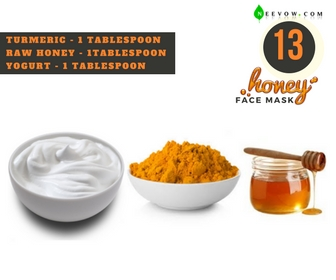 Turmeric & Honey Face Mask