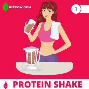 1. Use Protein Shake to Gain Weight
