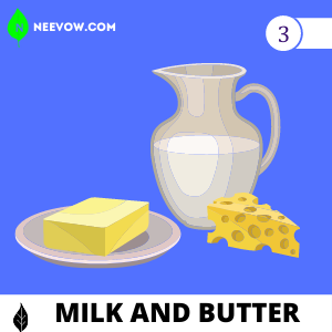 Use Milk and Butter to Gain Weight