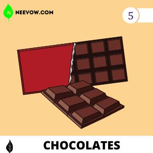 5. Chocolates