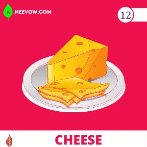 Cheese  to Gain Weight