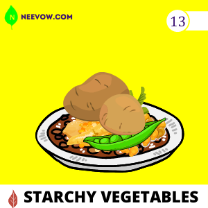 Starchy Vegetables to Gain Weight