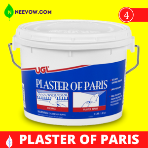 Use Plaster of Paris and Cocoa Powder